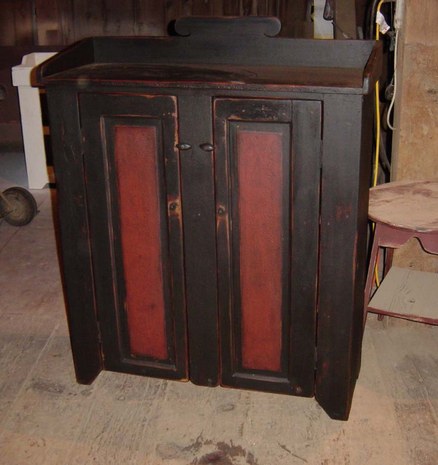 pantry antique jelly shop arts cupboard german glass stained sold pine crafts